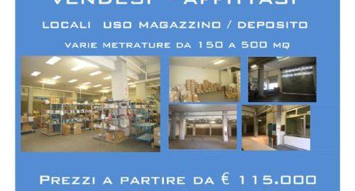 Vendita Magazzino Open space